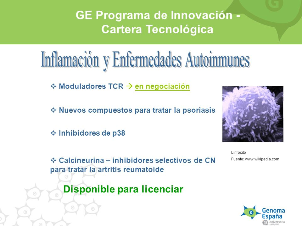 Inflamación y Enfermedades Autoinmunes