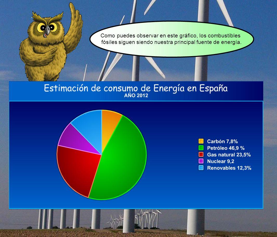 Como puedes observar en este gráfico, los combustibles