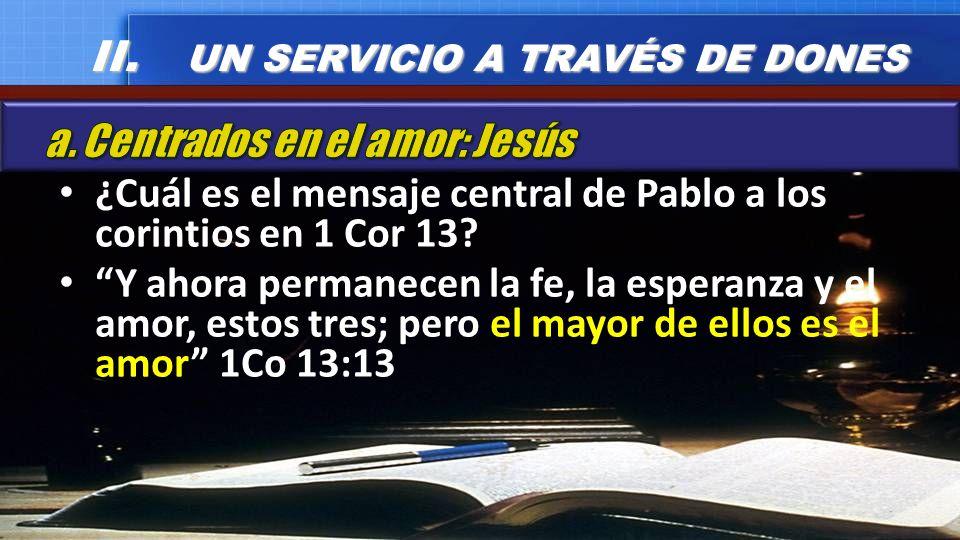 II. UN SERVICIO A TRAVÉS DE DONES