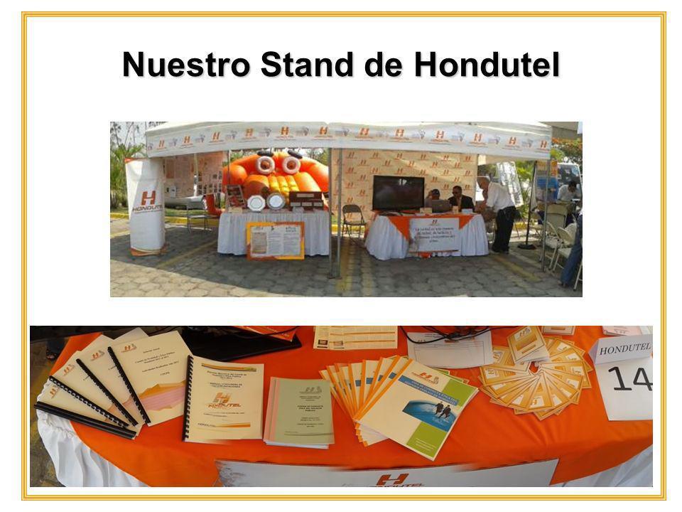Nuestro Stand de Hondutel