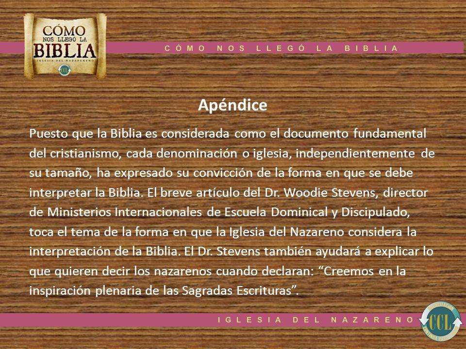 CÓMO NOS LLEGÓ LA BIBLIA