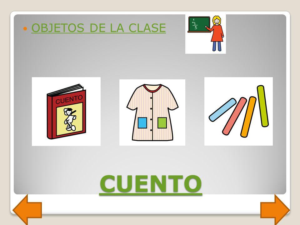 OBJETOS DE LA CLASE CUENTO