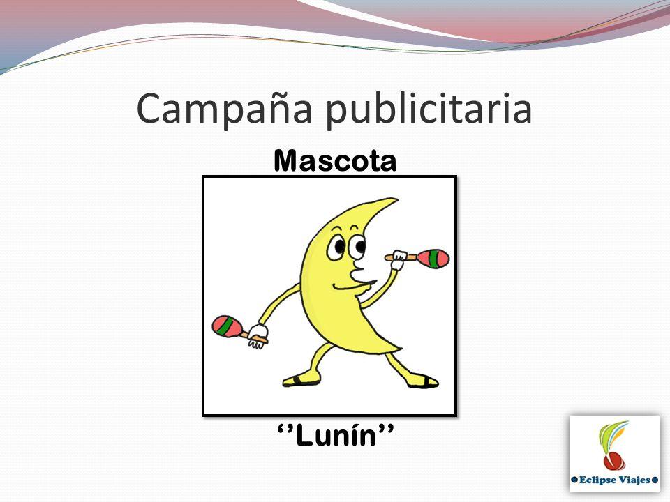 Campaña publicitaria Mascota '' ''Lunín''
