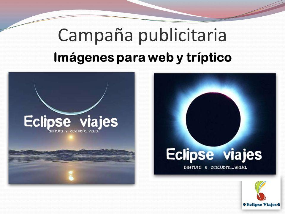Imágenes para web y tríptico