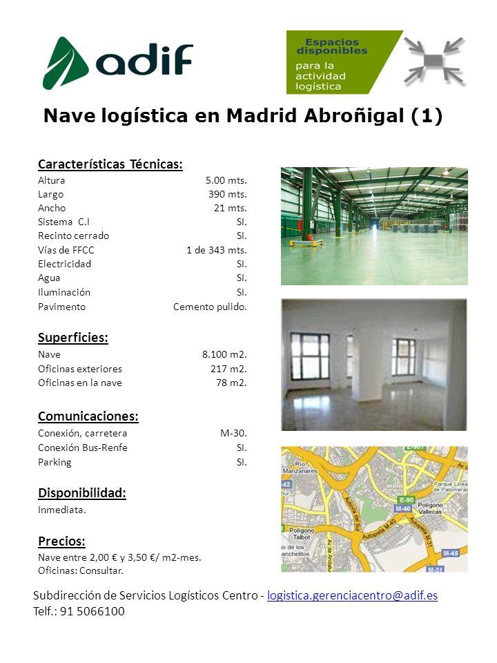 Nave logística en Madrid Abroñigal (1)