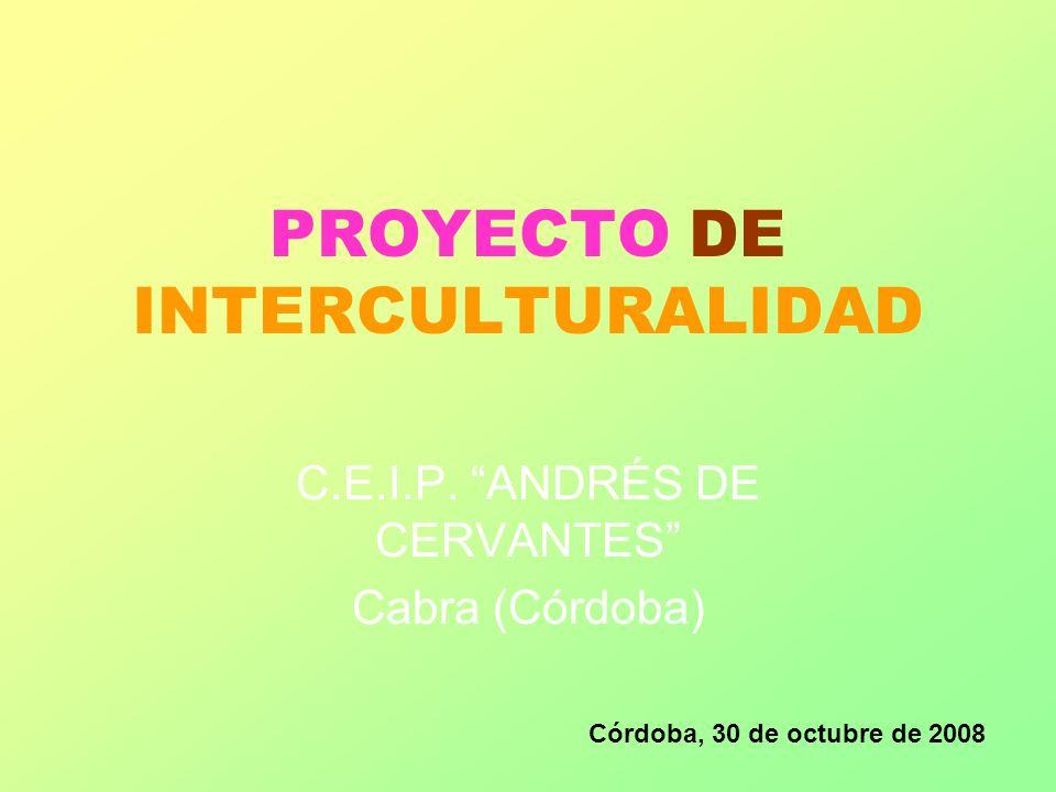 PROYECTO DE INTERCULTURALIDAD