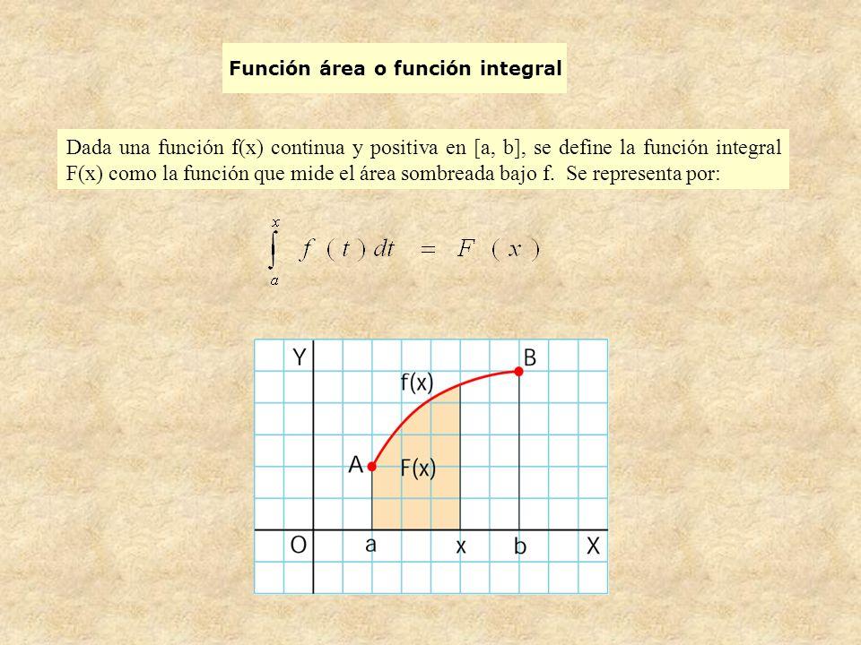 Función área o función integral
