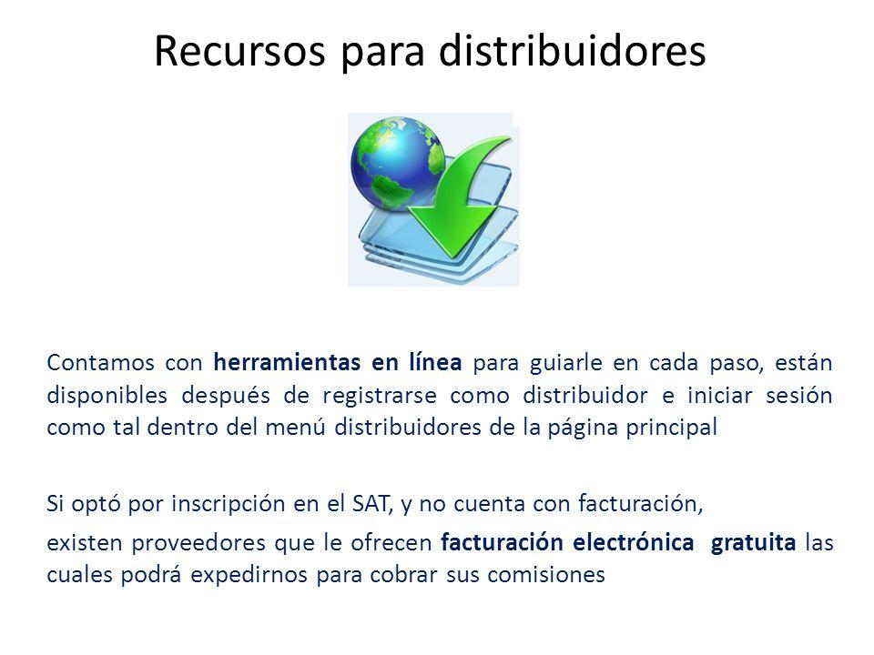 Recursos para distribuidores
