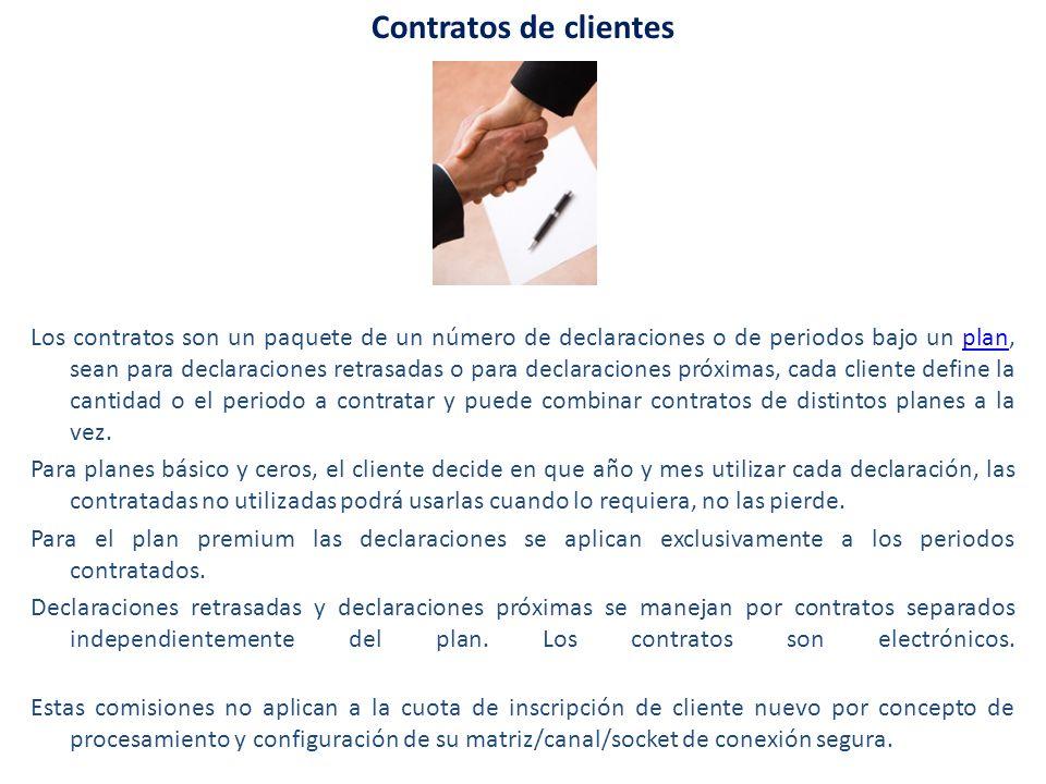 Contratos de clientes