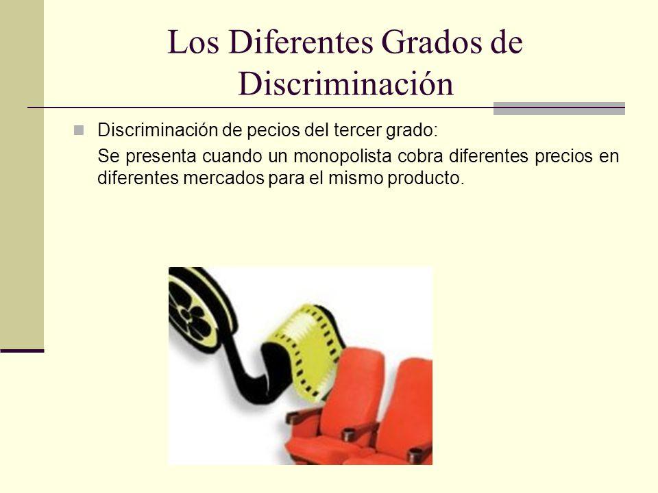 Los Diferentes Grados de Discriminación
