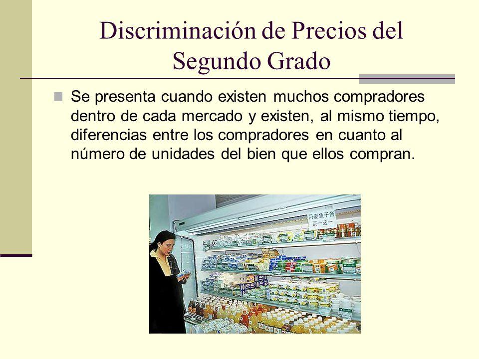 Discriminación de Precios del Segundo Grado