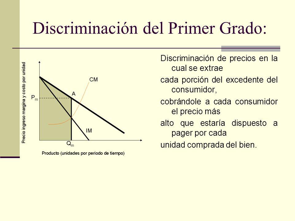 Discriminación del Primer Grado: