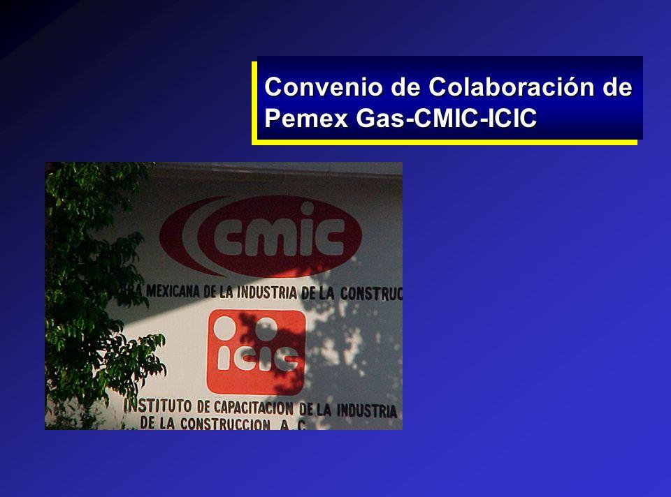 Convenio de Colaboración de Pemex Gas-CMIC-ICIC