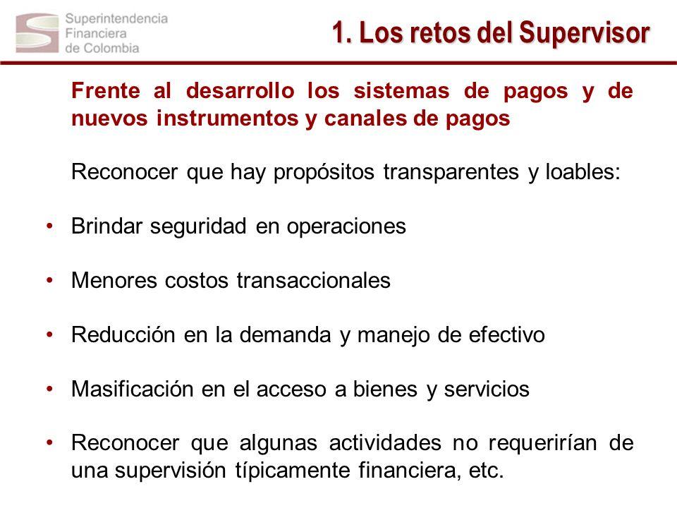 1. Los retos del Supervisor