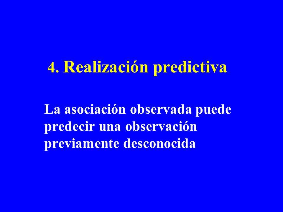 4. Realización predictiva