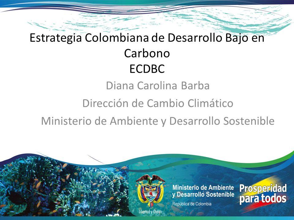 Estrategia Colombiana de Desarrollo Bajo en Carbono ECDBC