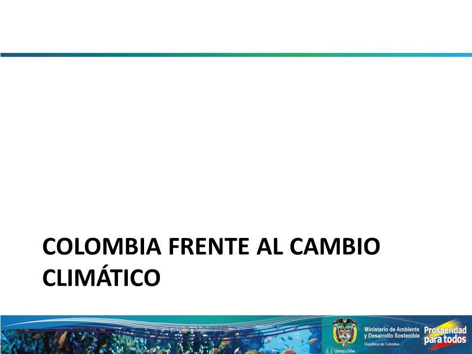 Colombia frente al Cambio Climático