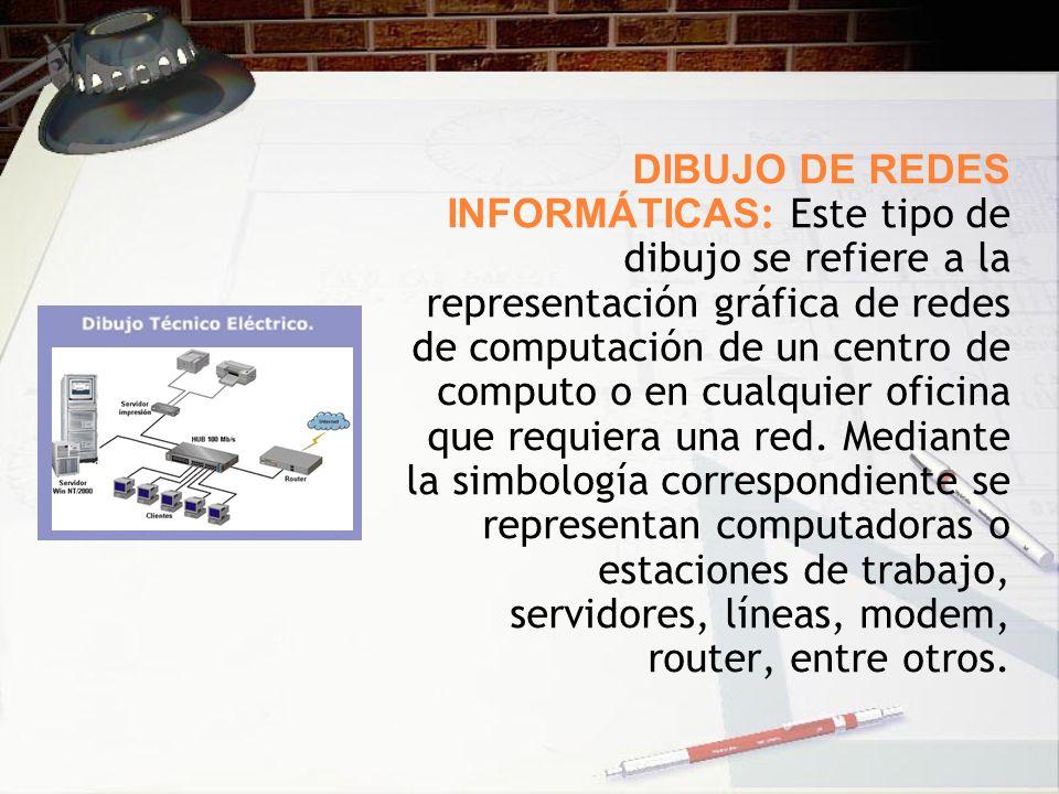 Dibujo y geometria descriptiva ppt descargar for Red de una oficina
