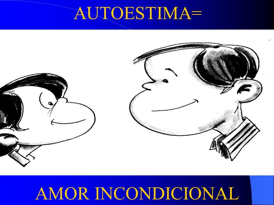 AUTOESTIMA= . AMOR INCONDICIONAL