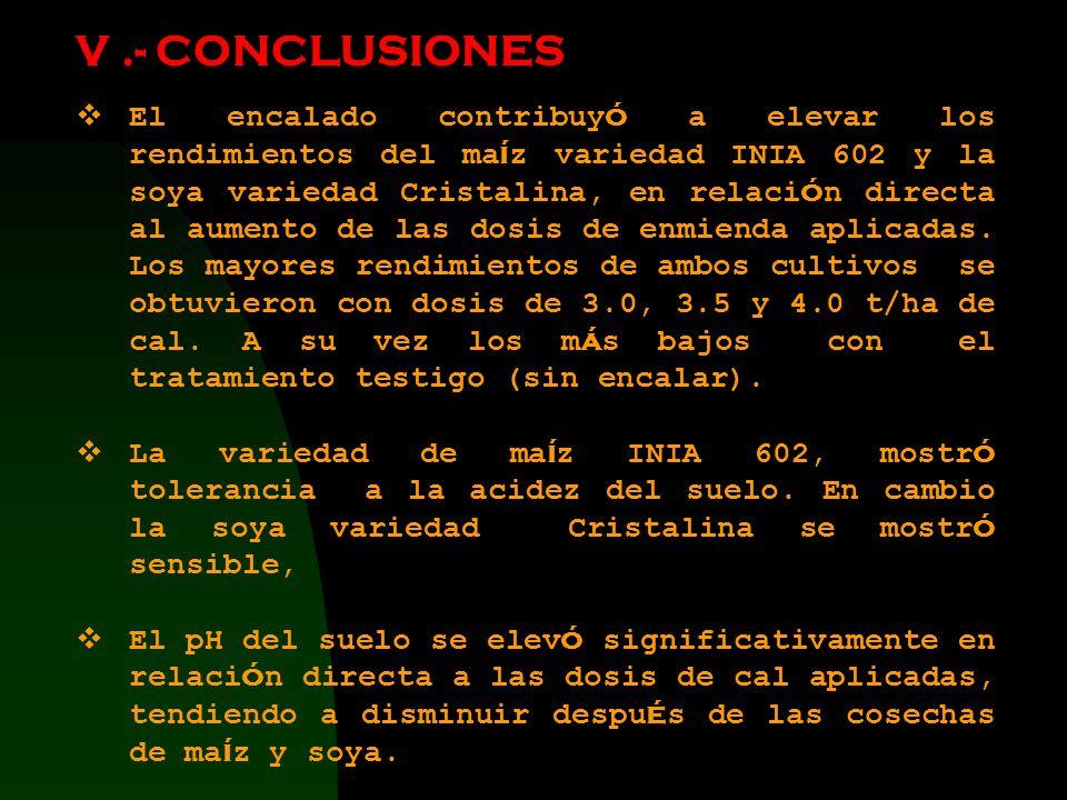 V .- CONCLUSIONES