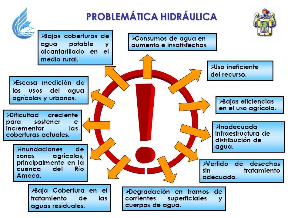 PROBLEMÁTICA HIDRÁULICA