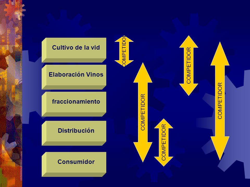 Cultivo de la vid Elaboración Vinos fraccionamiento Distribución