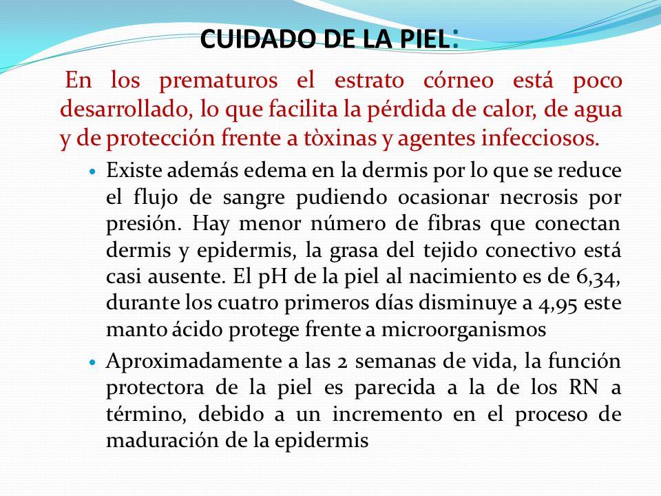 CUIDADO DE LA PIEL: