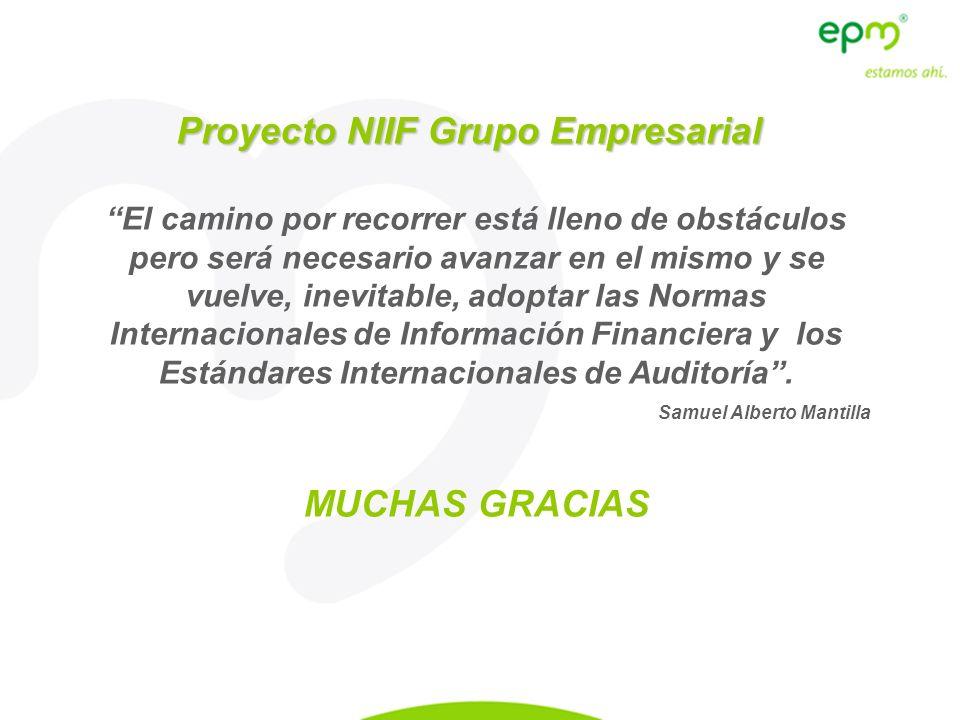 Proyecto NIIF Grupo Empresarial