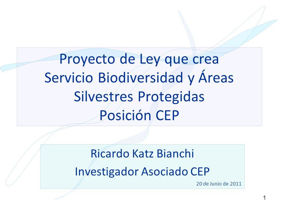 Ricardo Katz Bianchi Investigador Asociado CEP 20 de Junio de 2011