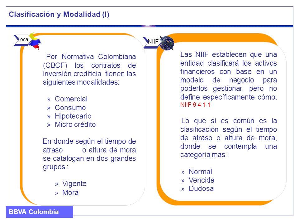 Clasificación y Modalidad (I)