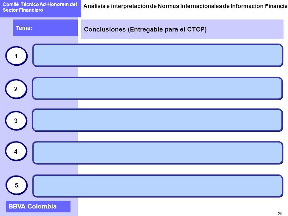 Conclusiones (Entregable para el CTCP)