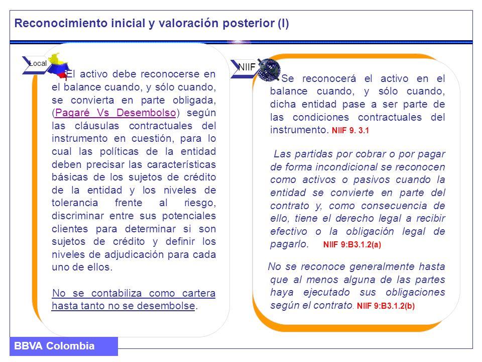 Reconocimiento inicial y valoración posterior (I)