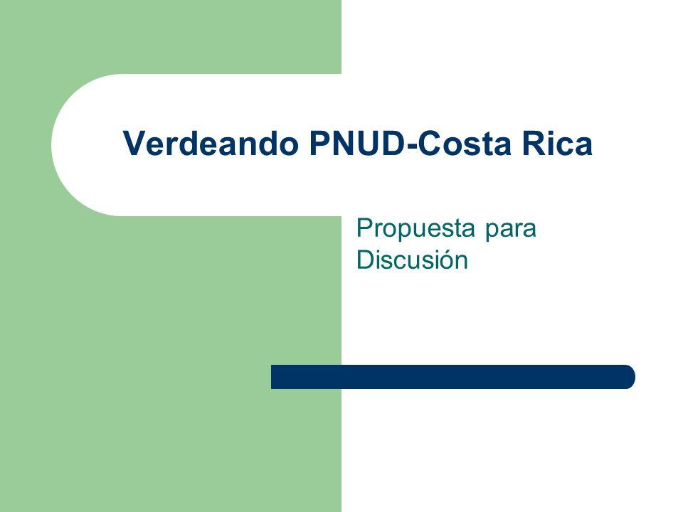 Verdeando PNUD-Costa Rica
