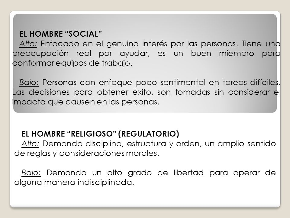 EL HOMBRE SOCIAL