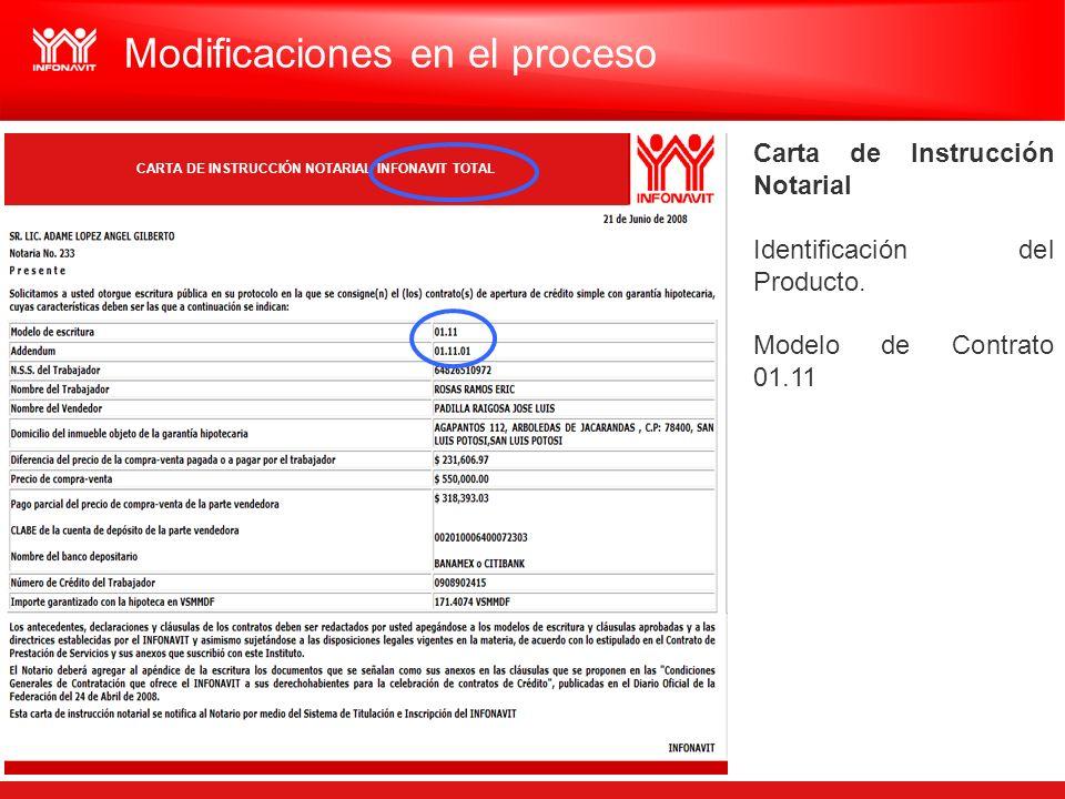 CARTA DE INSTRUCCIÓN NOTARIAL INFONAVIT TOTAL