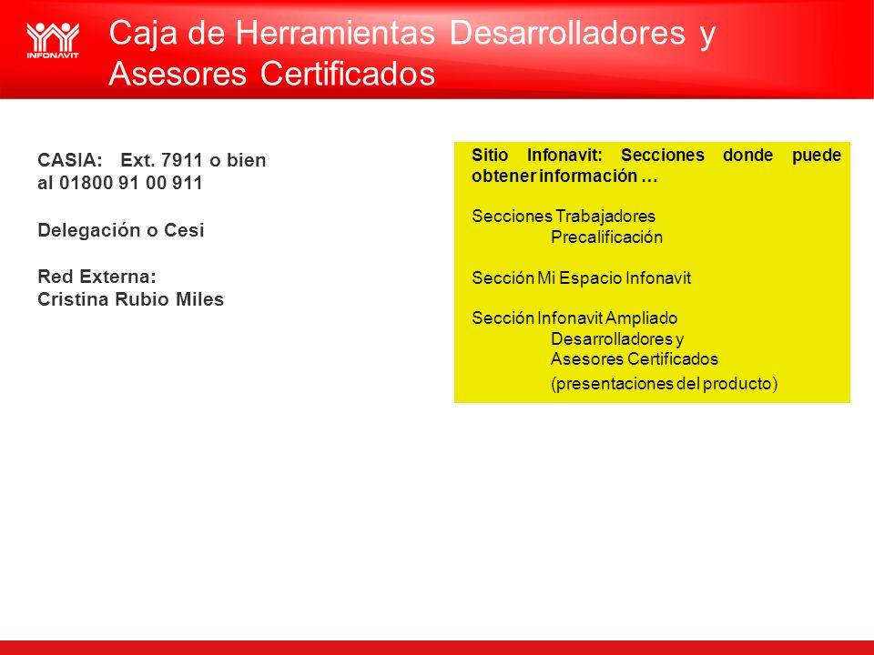 Caja de Herramientas Desarrolladores y Asesores Certificados