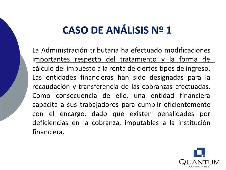 CASO DE ANÁLISIS Nº 1