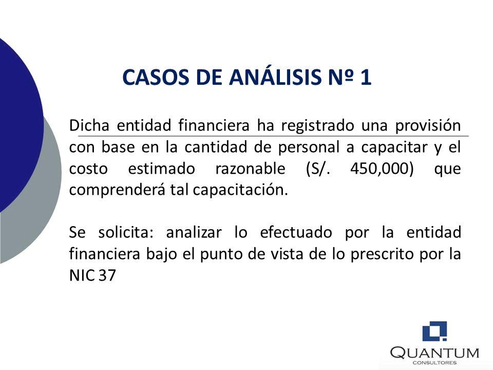 CASOS DE ANÁLISIS Nº 1
