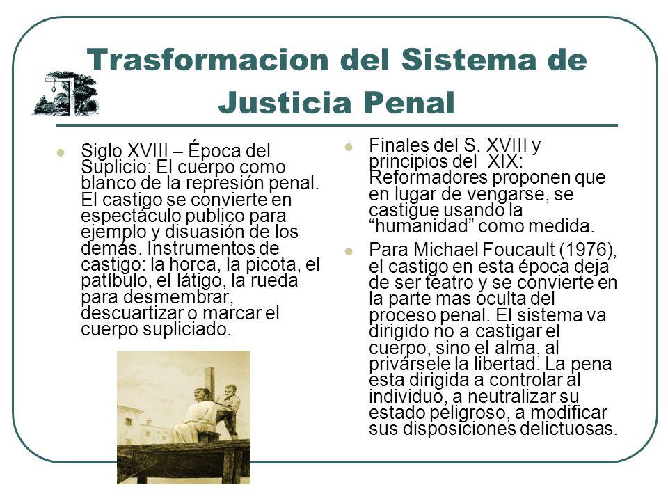 Trasformacion del Sistema de Justicia Penal