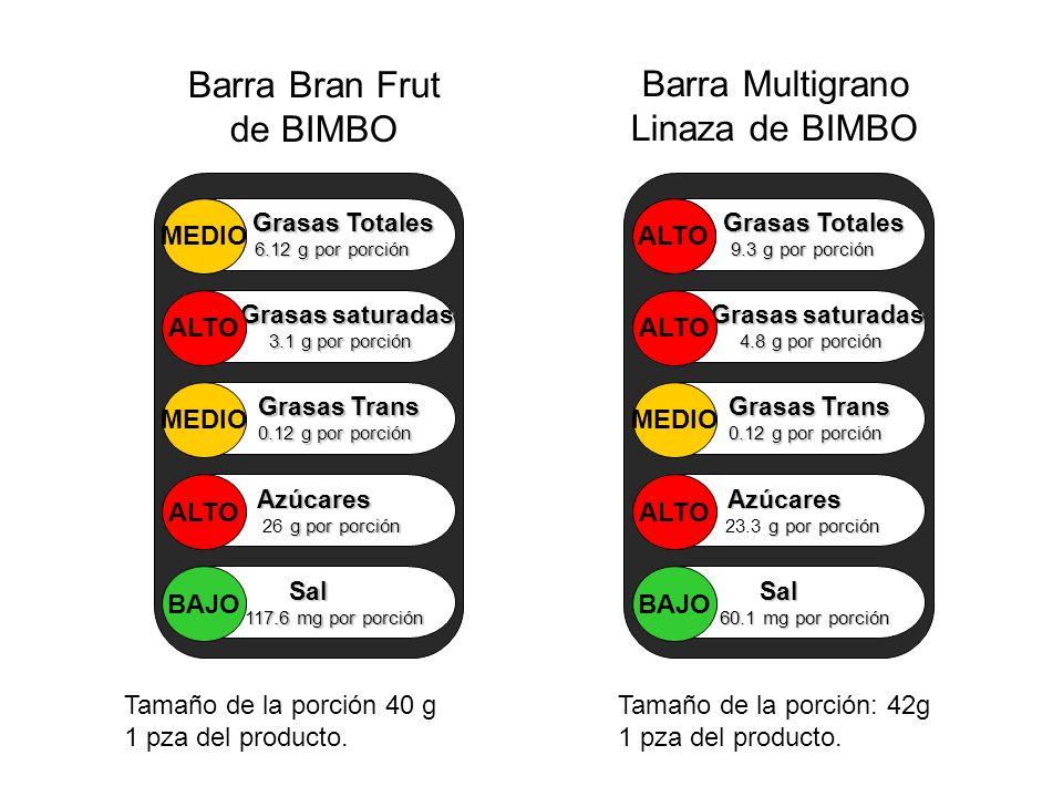 Barra Bran Frut de BIMBO Barra Multigrano Linaza de BIMBO