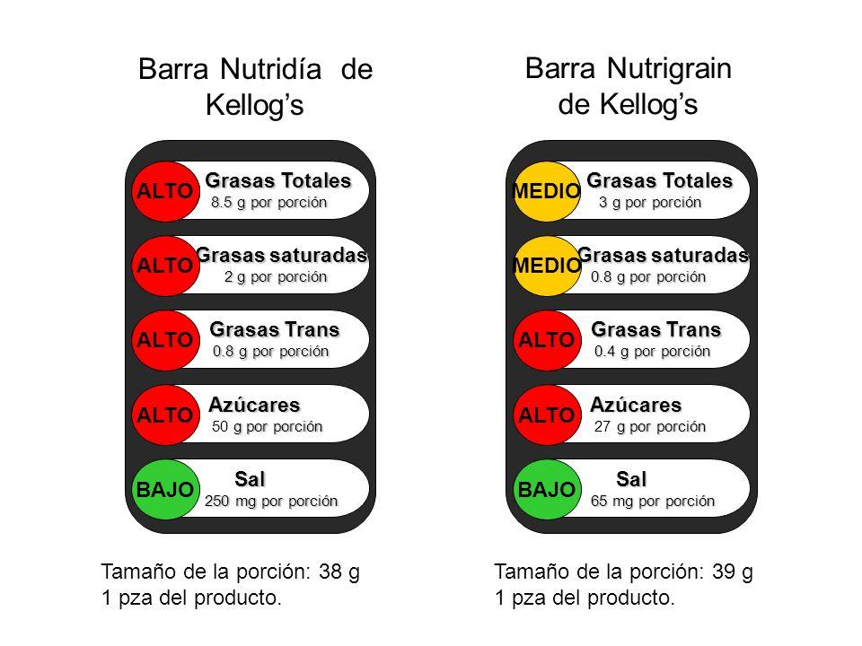 Barra Nutridía de Kellog's Barra Nutrigrain de Kellog's