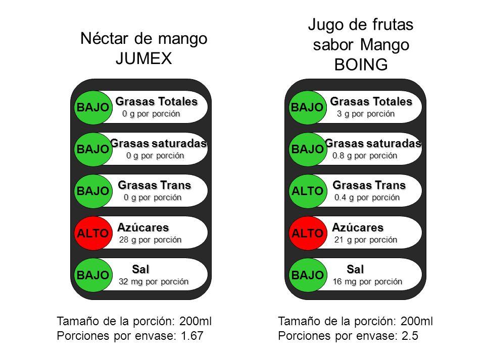 Jugo de frutas sabor Mango BOING