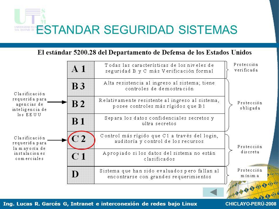 El estándar 5200.28 del Departamento de Defensa de los Estados Unidos