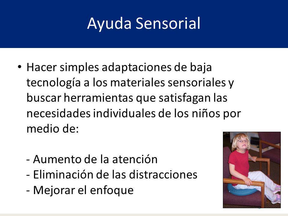 Ayuda Sensorial