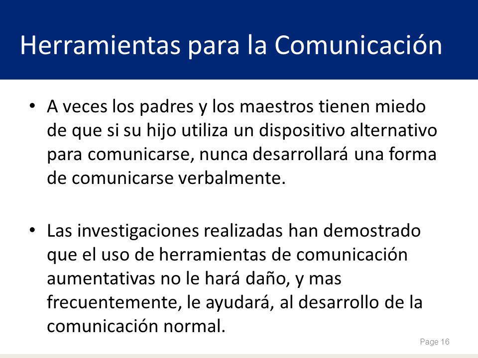 Herramientas para la Comunicación