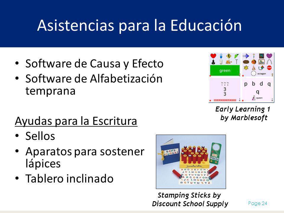 Asistencias para la Educación