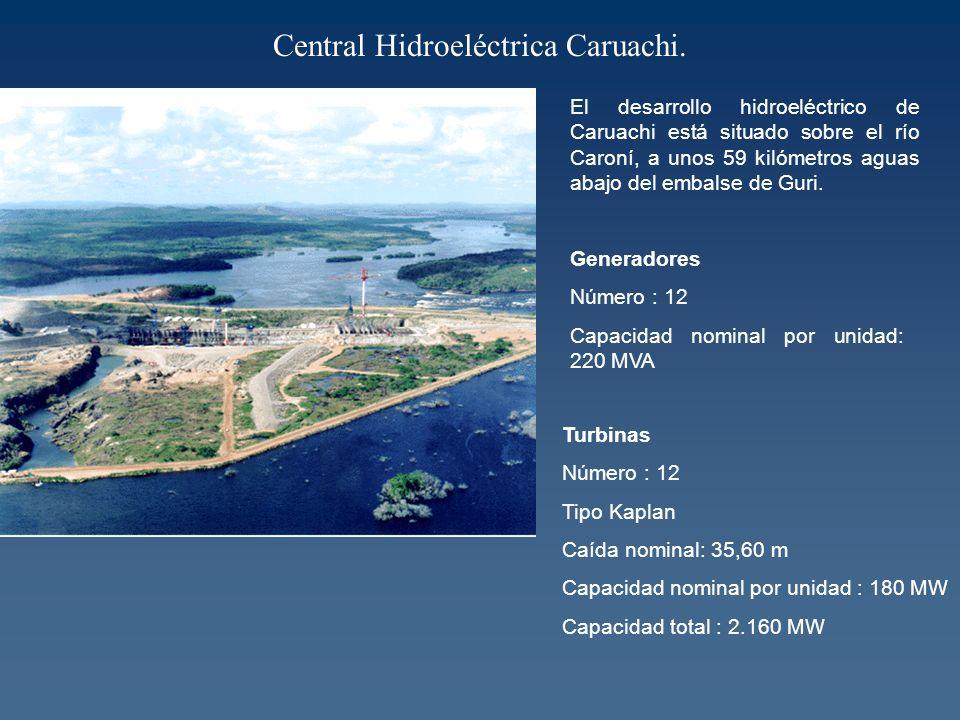 Central Hidroeléctrica Caruachi.