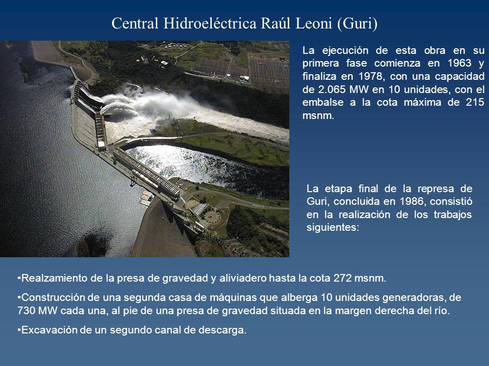 Central Hidroeléctrica Raúl Leoni (Guri)