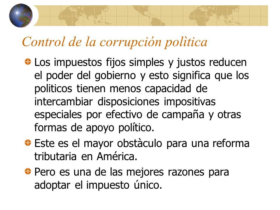 Control de la corrupción polìtica