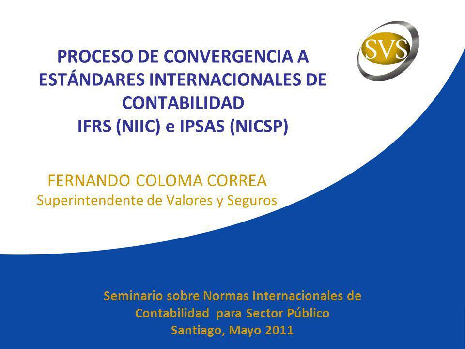 FERNANDO COLOMA CORREA Superintendente de Valores y Seguros